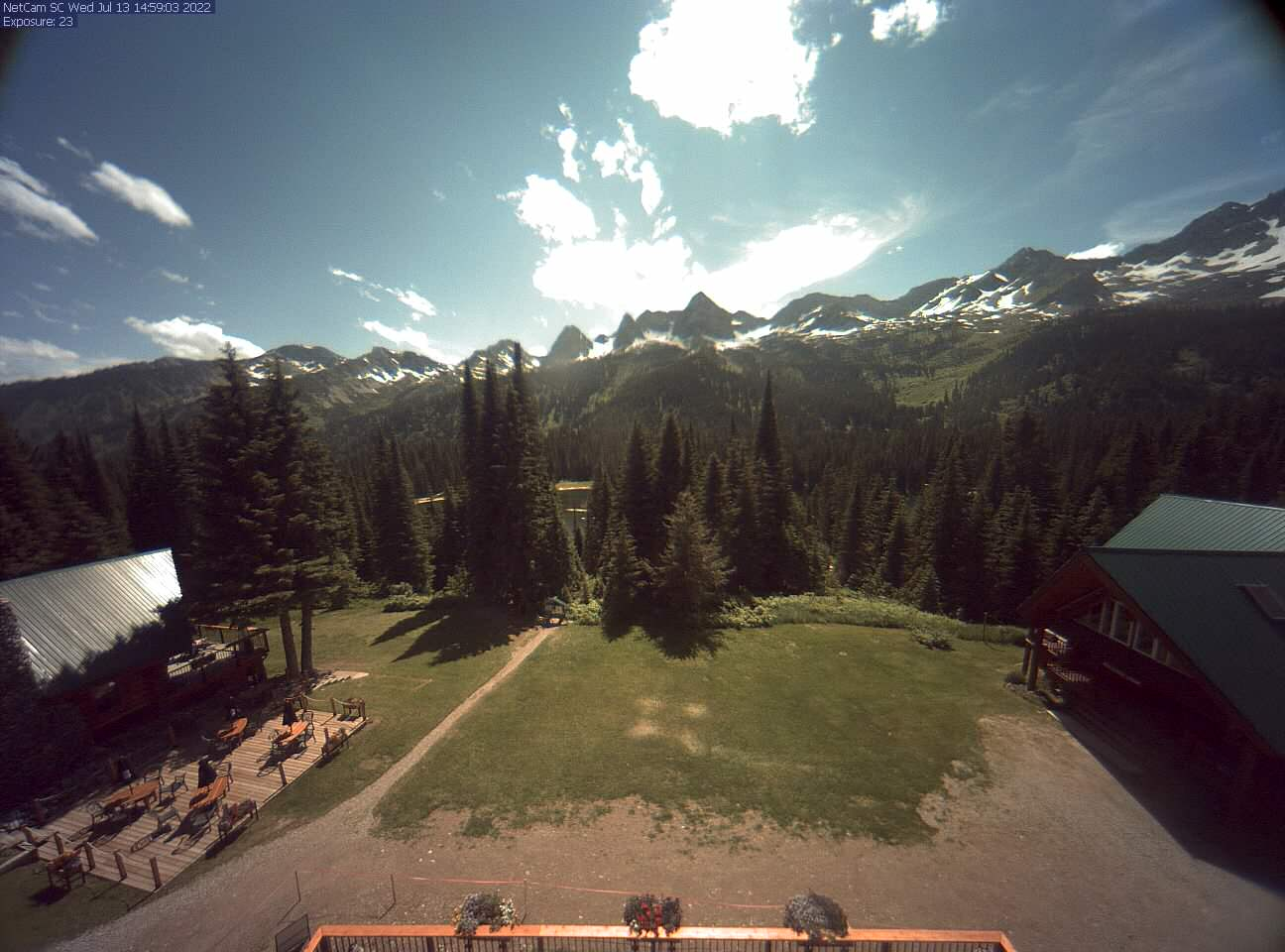 Island Lake Lodge Web Cam  2